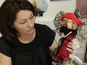 Мастер-класс Цветочная кукла | Ярмарка Мастеров - ручная работа, handmade