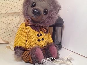 Аукцион!!! На очень милого медведя! | Ярмарка Мастеров - ручная работа, handmade