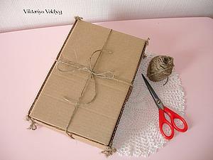 Упаковка для игрушки за 20 минут. Ярмарка Мастеров - ручная работа, handmade.
