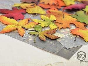 Создаем осенние листочки из фоамирана: часть 2. Ярмарка Мастеров - ручная работа, handmade.