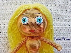 Как я оформляю лицо куколке. Ярмарка Мастеров - ручная работа, handmade.