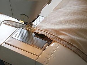 Вшиваем потайную молнию в стеганую подушку. Вариант 2. Ярмарка Мастеров - ручная работа, handmade.