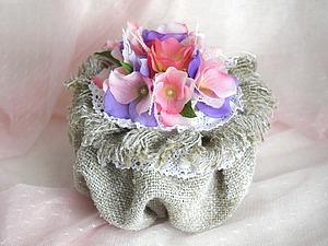 Создаем шкатулку своими руками  «Ваза с цветами». Ярмарка Мастеров - ручная работа, handmade.
