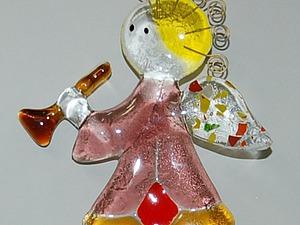 Мастер-класс: выполнение ангелочка из стекла. Ярмарка Мастеров - ручная работа, handmade.