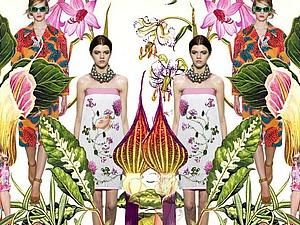 Floral Print или цветочный узор. Ярмарка Мастеров - ручная работа, handmade.