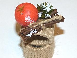 Новогодние кольца для салфеток, handmade