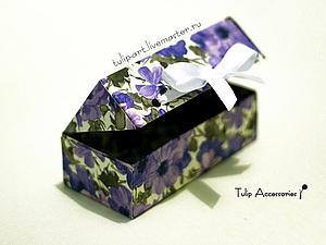 Весенние подарочные коробочки своими руками. Ярмарка Мастеров - ручная работа, handmade.