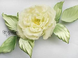 Видео мастер-класс по изготовлению шелковой розы «Бланш». Часть 2: обработка и сборка. Ярмарка Мастеров - ручная работа, handmade.