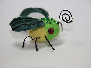 Валяние фэнтезийного насекомого | Ярмарка Мастеров - ручная работа, handmade