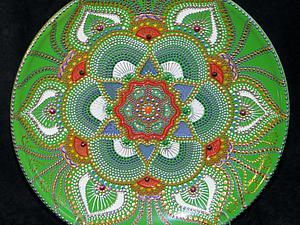 МК по точечной росписи | Ярмарка Мастеров - ручная работа, handmade