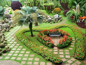 Чудесный сад Нонг Нуч | Ярмарка Мастеров - ручная работа, handmade