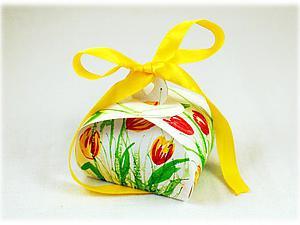 Делаем прелестную пасхальную коробочку для яиц. Ярмарка Мастеров - ручная работа, handmade.