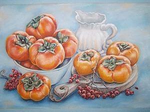 Рисуем натюрморт «Сладкая зима» сухой пастелью. Ярмарка Мастеров - ручная работа, handmade.