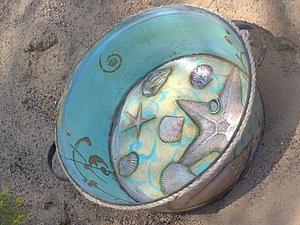 Авторский мастер – класс «Море дома»  Из серии «Дачная жизнь» | Ярмарка Мастеров - ручная работа, handmade