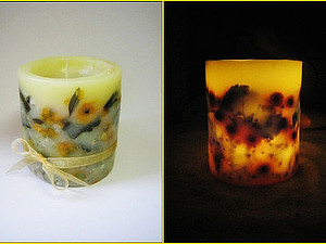 Свечи-подсвечники | Ярмарка Мастеров - ручная работа, handmade