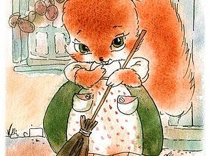 Сказка о белке Нинон и болонке Марго! Франция, время королей | Ярмарка Мастеров - ручная работа, handmade