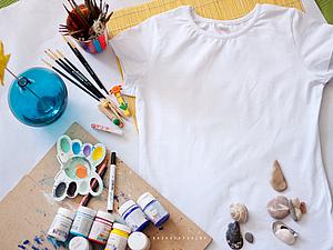 Мастер-класс по росписи одежды! | Ярмарка Мастеров - ручная работа, handmade