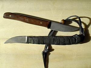 Делаем ножи из напильников. Ярмарка Мастеров - ручная работа, handmade.