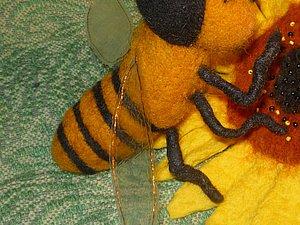 Крылья для валяной пчелы.. Ярмарка Мастеров - ручная работа, handmade.