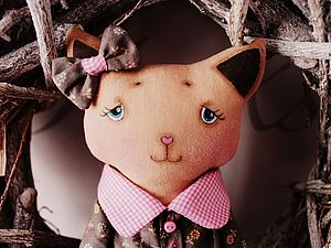Кошечка Прошечка))) | Ярмарка Мастеров - ручная работа, handmade