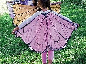 Как сделать крылья бабочки