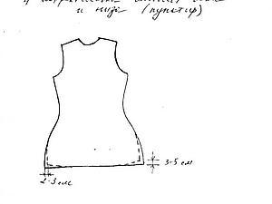 Основы построения выкроек для одежды (платье, туника, жилет, жакет, куртка с капюшоном) | Ярмарка Мастеров - ручная работа, handmade