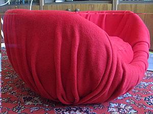 Мягкое кресло для сынули. Папье маше обтянутое флисом! | Ярмарка Мастеров - ручная работа, handmade
