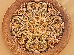 Орнаментальные секреты - завораживающий круговорот | Ярмарка Мастеров - ручная работа, handmade