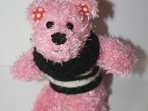Делаем медвежонка из перчатки. Ярмарка Мастеров - ручная работа, handmade.