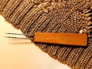 Самодельный инструмент для вязания резинки на машине | Ярмарка Мастеров - ручная работа, handmade
