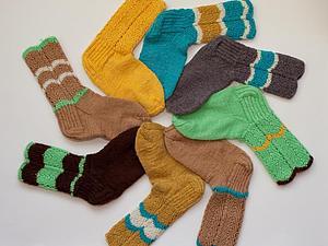 Здравствуйте, друзья! Заходите смотреть новые носочки! | Ярмарка Мастеров - ручная работа, handmade