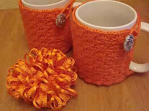 Чехол - грелка на чашку для комфортного и красивого чаепития.   Ярмарка Мастеров - ручная работа, handmade