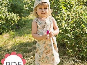 Мастер класс pdf по пошиву платья для девочки | Ярмарка Мастеров - ручная работа, handmade