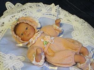 Малышка Ларисочка-мини реборн Инны Богдановой. | Ярмарка Мастеров - ручная работа, handmade