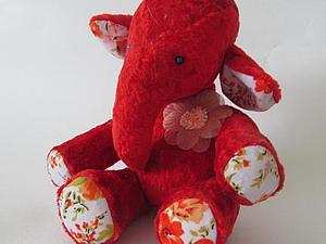 Тедди слоненок со скидкой!!! Доставка в подарок! | Ярмарка Мастеров - ручная работа, handmade