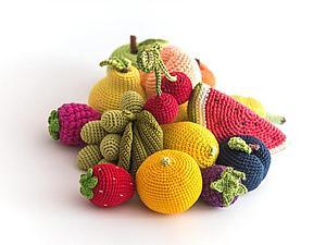 Стихи про фрукты (для вязанного огорода) | Ярмарка Мастеров - ручная работа, handmade