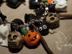Украшения к Хэллоуину. | Ярмарка Мастеров - ручная работа, handmade
