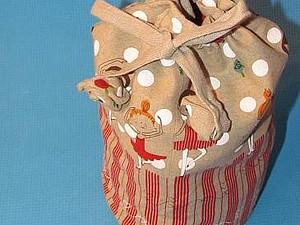 Мешок или сумка-мешок из ткани. Ярмарка Мастеров - ручная работа, handmade.