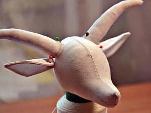 """Изготовление талисмана 2015 года """"Козетта"""". Ярмарка Мастеров - ручная работа, handmade."""