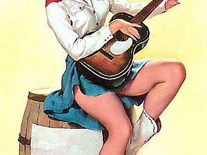 Пин-ап, или Девушка с обложки. Часть 2 | Ярмарка Мастеров - ручная работа, handmade
