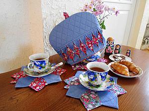 Шьём грелку для заварочного чайника. Ярмарка Мастеров - ручная работа, handmade.