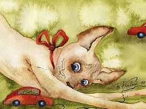 Добрые картины Виктории Кирдий | Ярмарка Мастеров - ручная работа, handmade
