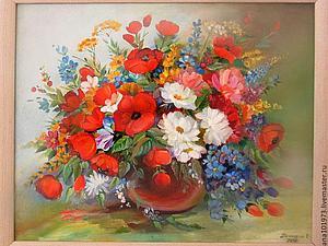 Распродажа картин цветов! | Ярмарка Мастеров - ручная работа, handmade