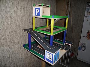 Парковка для детей своими руками