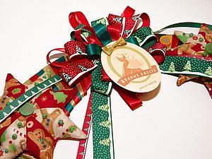 Мы участвуем в конкурсе рождественских венков.Пожелайте удачи!   Ярмарка Мастеров - ручная работа, handmade