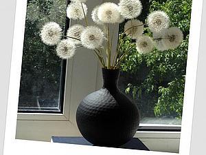 Воздушный букет из одуванчиков | Ярмарка Мастеров - ручная работа, handmade