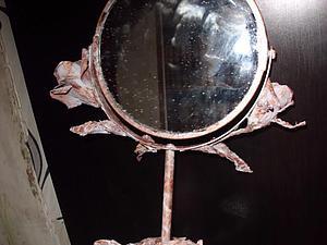 Зеркало с розой | Ярмарка Мастеров - ручная работа, handmade