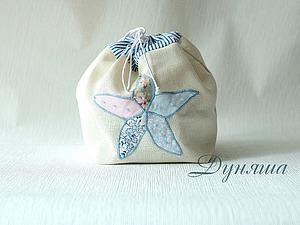 Шьем подарочный мешочек с морской звездой. Ярмарка Мастеров - ручная работа, handmade.