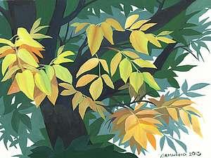 Осенние листья. Ярмарка Мастеров - ручная работа, handmade.