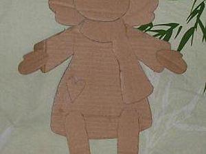 Ангел в технике папье-маше. Часть 2. Ярмарка Мастеров - ручная работа, handmade.